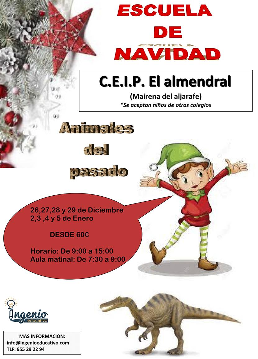 Microsoft Word - cartel escuela de navidad EL ALMENDRAL